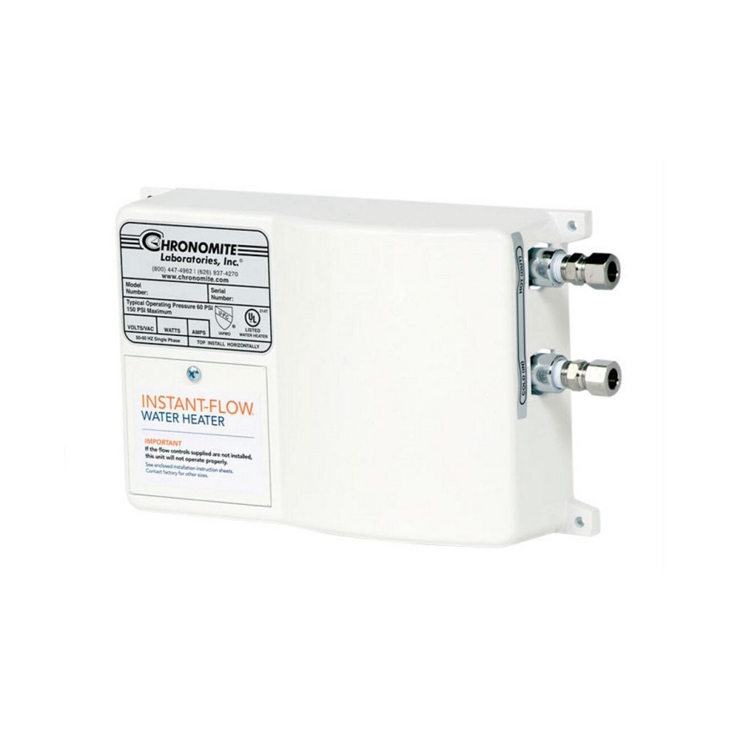 top chronomite tankless water heaters